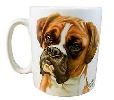 En Caja Marrón Perro Boxer Cachorro Hecho el Ru Regalo Calidad Taza de Cerámica