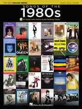 THE NEW DECADE SERIES-SONGS OF THE 1980s-PIANO/VOCAL/GUITAR MUSIC BOOK BRAND NEW
