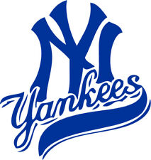 "New York Yankees Vinyl Decal ""Sticker"" For Car or Truck Windows, Laptops"