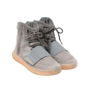 Adidas Yeezy Boost 750 High Top Gum Sole Light Grey Glow Sneaker Size 10