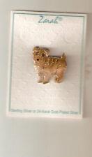 Zarah Enamel Sterling Silver Brooch Pin Jewelry Norfolk Terrier