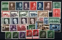 P126412/ AUSTRIA – 1937 / 1948 MINT MNH SEMI MODERN LOT – CV 230 $