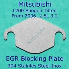 EGR blanking plate Shogun Triton L200 Barbarian Trojan 2.5 3.2 Euro 4 & 5 block
