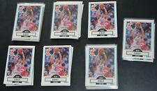 (64) Lot 1990 Fleer Basketball #102 Ron Seikaly W/ Michael Jordan Card