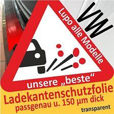 Per VW Lupo Protezione Paraurti Pellicola di Vernice Protettiva Trasparente 150