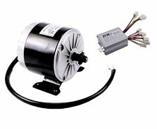 350W 24V Brush DC Electric Motor Kit Controller Electric Bicycle E-bike Scooter