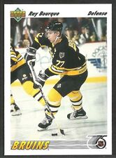 Boston Bruins Ray Bourque 1991 Upper Deck Hockey Card 255