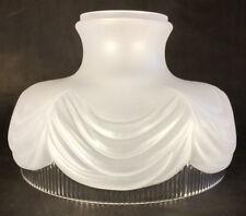 "10"" Coleman Lantern Style #322 Glass Oil Kerosene Gas Electric Lamp SHADE #SH537"