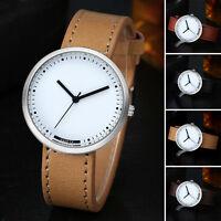 GAIETY Herren Mode Sportuhr Quarz Armbanduhr Leder Analog WristWatch NEU