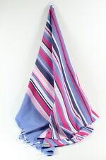 Blue VIVA Turkish Towel Peshtemal Sarong Bath SPA Beach Hammam Gym 100% cotton