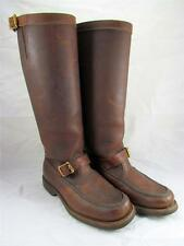 Gokey Botte Sauvage Snakeproof Boots Vintage Brown Oiled Leather Mens 7.5 M  EUC