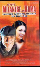 Una Milanese a Roma (2001) VHS DnC Diego Febbraro Nadia Rinaldi Nino Manfredi