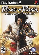 PS2 Prince Of Persia: The Two Thrones Video Game action adventure rpg COMPLETE