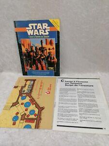 JEU DE ROLE Star Wars CHASSE A L'HOMME SUR TATOOINE Descartes West End Games