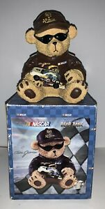 NASCAR Dale Jarrett Collectibe Bear Bank NEW in the Box #88 UPS with Car