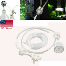 DIY Co2 Generator System Kit D201 Tube Valve Guage for Aquarium Water Plant Tank