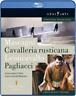 Cavalleria Rusticana/Pagliacci: Teatro Real, Madrid (Lopez Cobos)  Blu-ray NUOVO