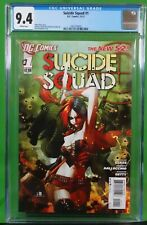 CGC 9.4 Suicide Squad #1 New 52 Harley Quinn