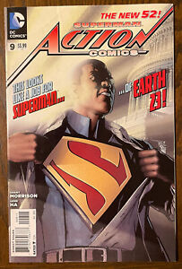 Action Comics 9 A New 52 1st cover appearance Calvin Ellis Superman VF PICS