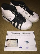2004 Tennessee Lady Volunteers Team Signed Used Basketball Shoes Pat Summitt-Coa