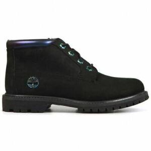 Timberland NELLIE Black IRIDESCENT Waterproof CHUKKA Boot rrp £130
