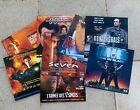 Lot de 8 Films en LaserDiscs (CD-vidéo) | Seven, L'Effaceur, US Marshals, MIB...