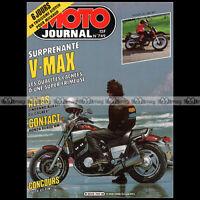MOTO JOURNAL 749 ★ YAMAHA 1200 VMAX ★ HONDA XL 600 RM, RALLYE ATLAS ISDT 1986