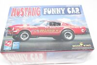 AMT Model King Bonner Warbucks Ford Mustang 427 A/FX Funny Drag Car Kit 1/25 New