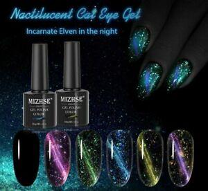 Magnetic Nail Gel Polish Glow In The Dark UV Polish Glitter Semi Permanent Poly