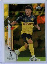 2019-20 Topps Chrome UEFA Sapphire Yellow #16 Jadon Sancho #66/99 BVB Borussia