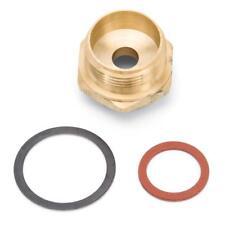 "Edelbrock Carburetor Fuel Inlet Fitting 12415; 5/8""-18 IF Female to 7/8""-20 Male"