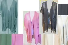 Solid Color Chiffon Vest Scarf Lot of 12 (3 each of 4 colors)