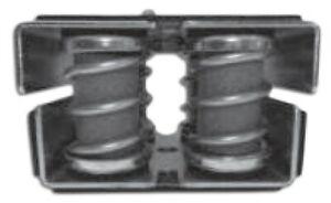 Spring Mount 100 - 500 Kg Anti Vibration Pad Metal Coil