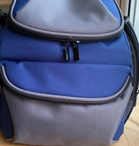 Padded Camera / Travel Bag with 4 Pockets 4 Compartments Hand and Shoulder Strap