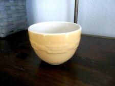 Longaberger Pottery Round Dessert Nesting Bowls 10 oz. - Set of 4 - Butternut