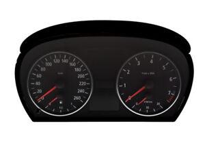 Tachonadeln Tachozeiger Nadeln Zeiger ROT passend für BMW 1er E81 E82 E87 E88 M1