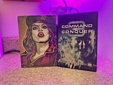 Command & Conquer 3: Tiberium Wars & Red Alert Steelbooks (G1) (No game)