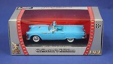 Yatming Road Signature 1:43 1955 Ford Thunderbird MIB Blue