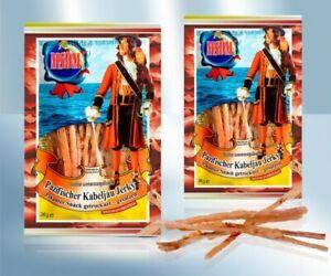 10x Pazifischer Kabeljau Jerky Getrocknet Gesalzen Натуральная соленая Pikant
