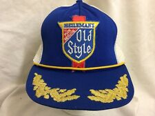 trucker hat baseball cap Heilemans Old Style retro vintage SnapBack rave rare