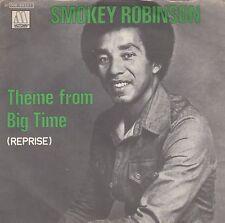 "SMOKEY ROBINSON-THEME FROM BIG TIME-ORIGINAL ITALIAN 7"" 45rpm 1977-MOTOWN SOUL"