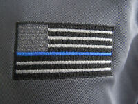 Thin Blue Line Polo Wicking technology collared shirt mesh law enforcement gray