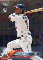 2018 Topps Chrome Update Ozzie Albies #HMT27 Rookie Card (RC)