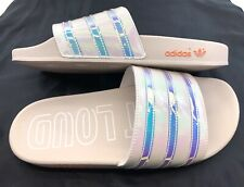 Adidas ADILETTE Sandals Slippers Slides Cloud White EE5130 Women Size 10