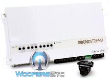 SOUNDSTREAM MR5.2000D 5-CH COMPONENT SPEAKERS SUBWOOFER MARINE BOAT AMPLIFIER