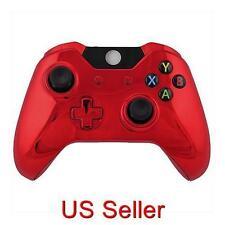 Xbox One Repair Part Full Housing Shell Chrome Red Full Set (Game Bully)