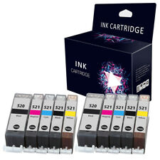 10 Ink Cartridges for Canon iP4600 iP4700 MX860 MP560 MP620 MP630 MP640 MP980