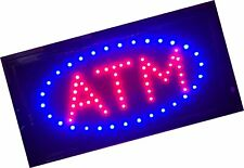 E Onsale Atm Led Neon Light Open Sign With Animation On/off and Power On/Off .