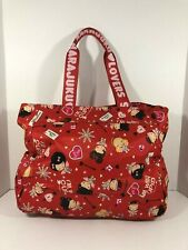 Harajuku Lovers Tote Bag Im With Cupid  Purse Red