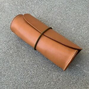 The Superior Labor nude leather pen case pouch roll